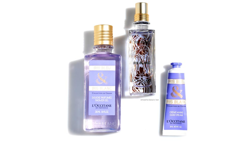 French skin care specialist L'Occitane introduces Iris Bleu & Iris Blanc fragrance