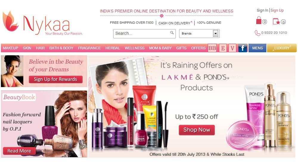FSN E-commerce Ventures lead Nykaa.com looks for 100 cr funds to expand private label