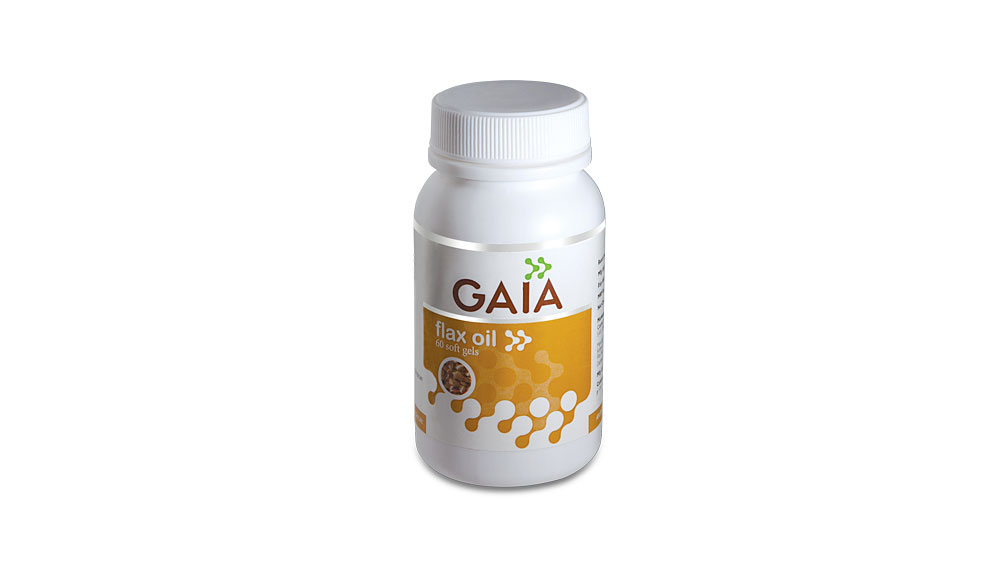 Health products brand GAIA launches Flaxseed oil capsules