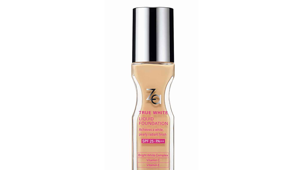 House of Shiseido introduces Za True white liquid foundation