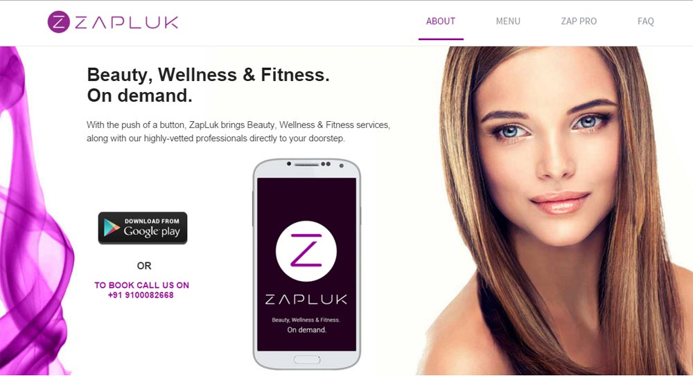 Hyderabad-based beauty and wellness app, Zapluk raises angel funding from Ex-Apple MD