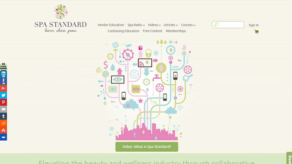 Int online platform offers courses for wellness professionals to lift up existing 'Spa Standard'