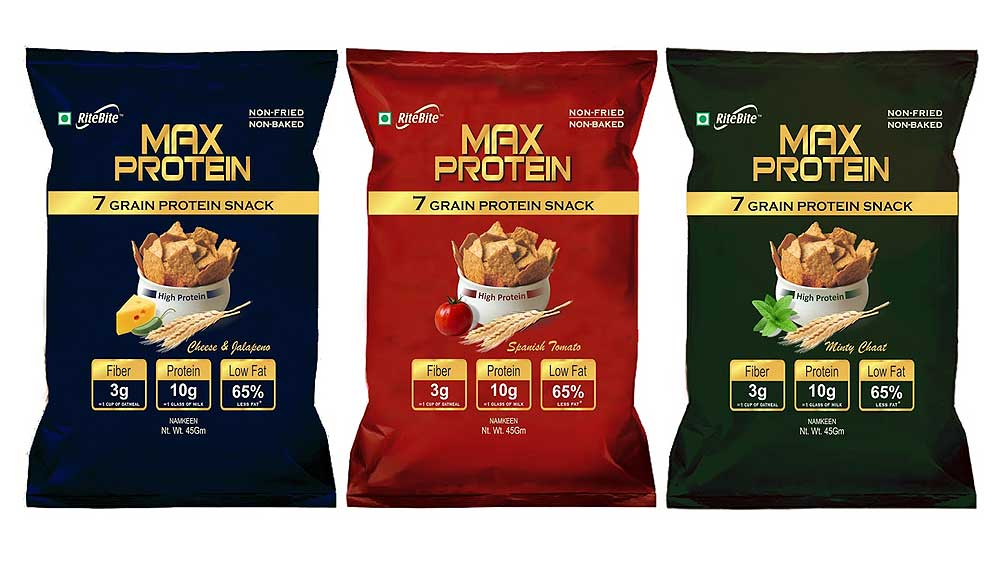 RiteBite Max Protein snacks: Now, binge on healthy chips