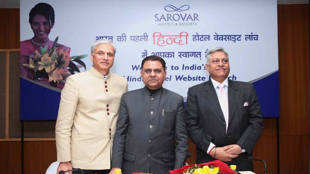 Sarovar Hotels launches India's first Hindi website to tap domestic travellers