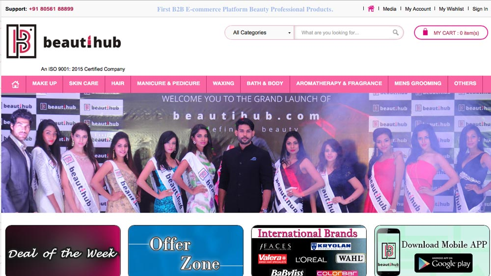 Unit of W&G Beauty India launches BeautiHub.com for wellness professional