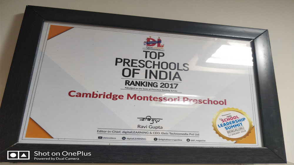 Cambridge Montessori Preschool Claims Franchisor Of The Year title