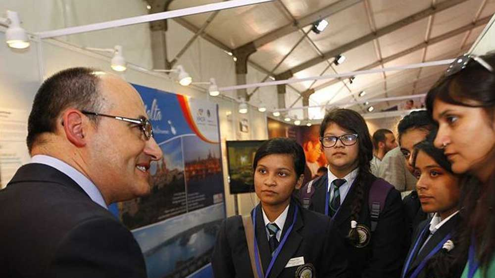 European Union's education fair starts in India