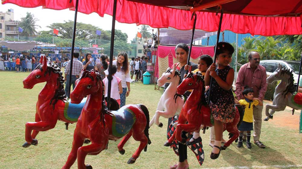 TRIO World School hosted 'Ablaze Carnival-2018'