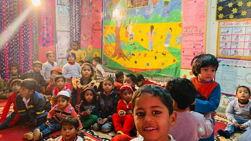 Delhi's education minister inaugurates first-ever mohalla play schools