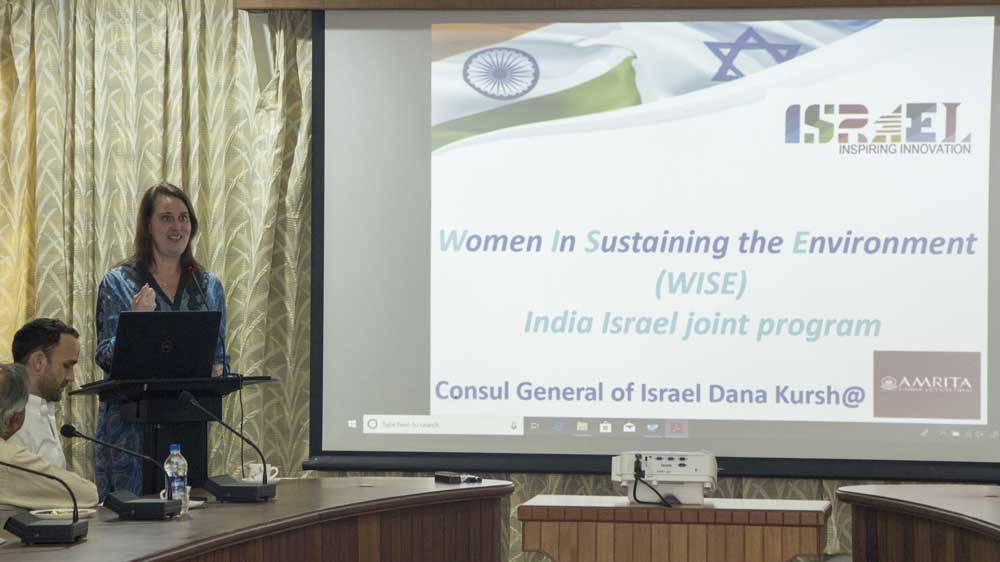 Tel Aviv University & Amrita Vishwa Vidyapeetham launch project on sustainable water governance through women's empowerment