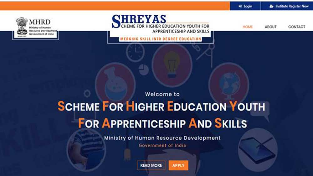 HRD Ministry introduces SHREYAS for skilling non-technical students