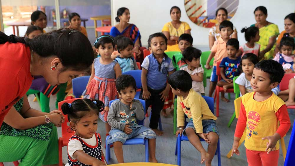 Bank of Baroda introduces creche/daycare facility for children of employees