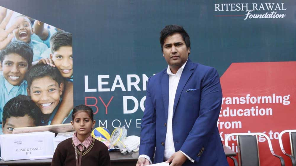 Ritesh Rawal Foundation launches 'Learning by Doing Movement' to Transform Education Differently
