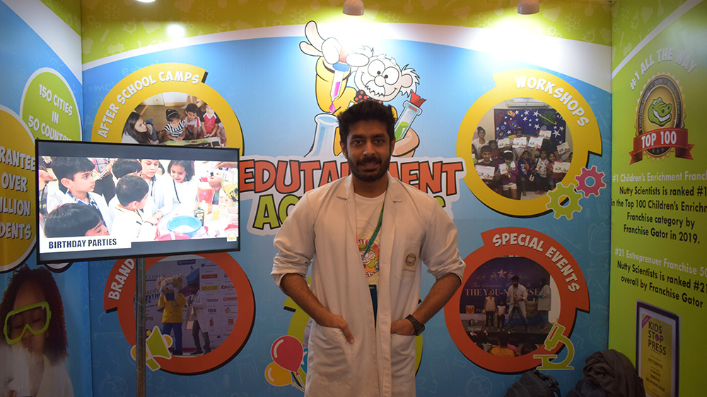 Children's Enrichment Franchise Nutty Scientist aims pan India expansion via franchising