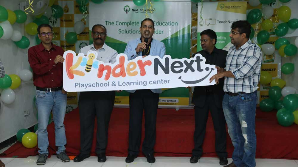 "Next Education launches ""KinderNext"" to enable holistic development of early learners"