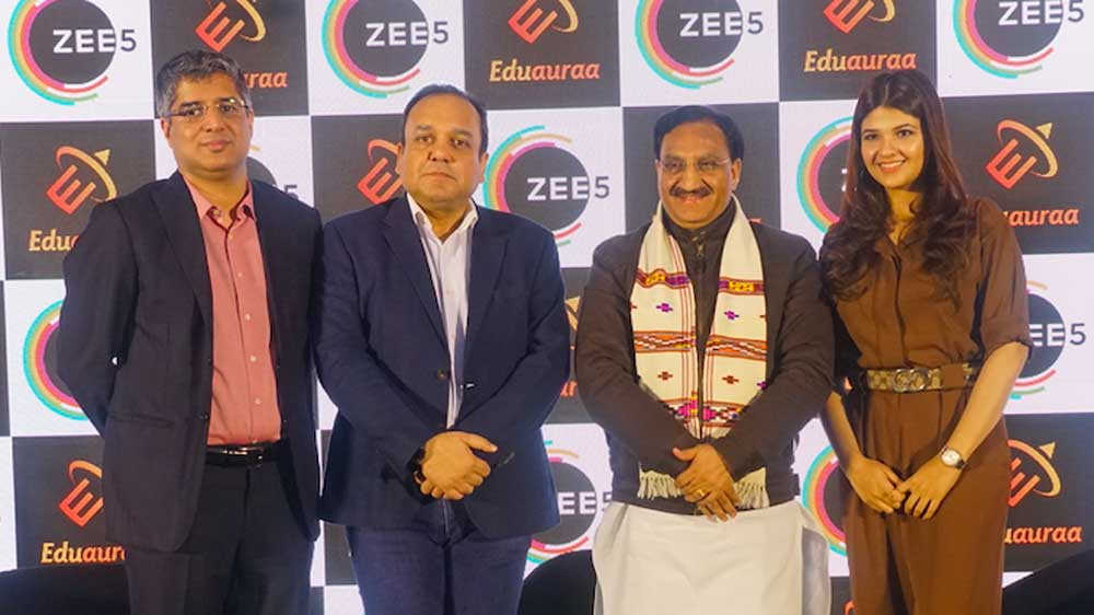 Zee5 Partners With Eduauraa To Offer World Class Online Education