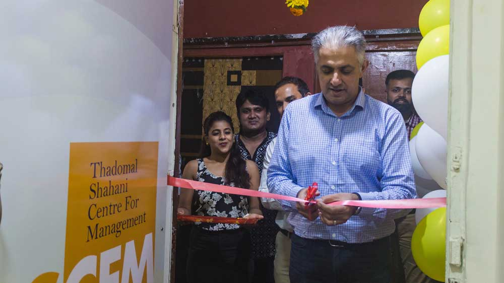Thadomal Shahani Centre for Management Expands reach with New Franchise location in Mumbai