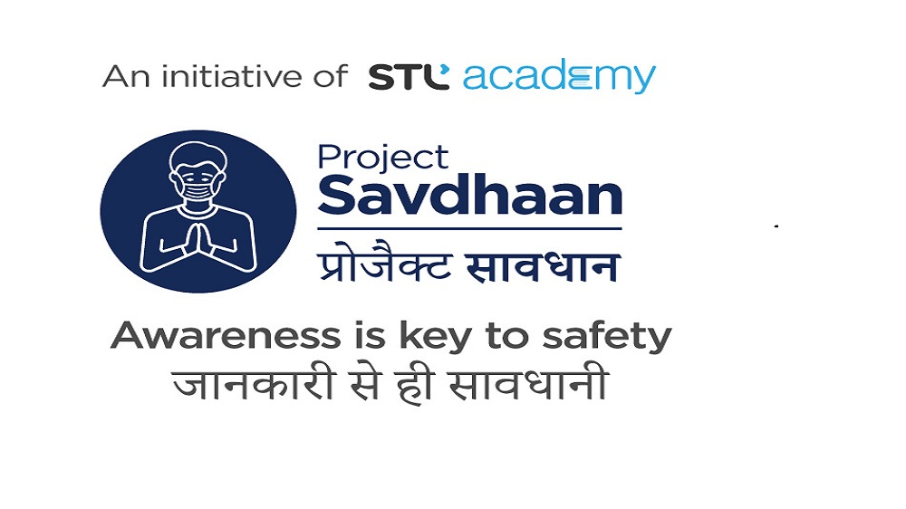 STL Academy forms Project Savdhaan, a special initiative to train over 1 lakh youth on COVID-19 awareness