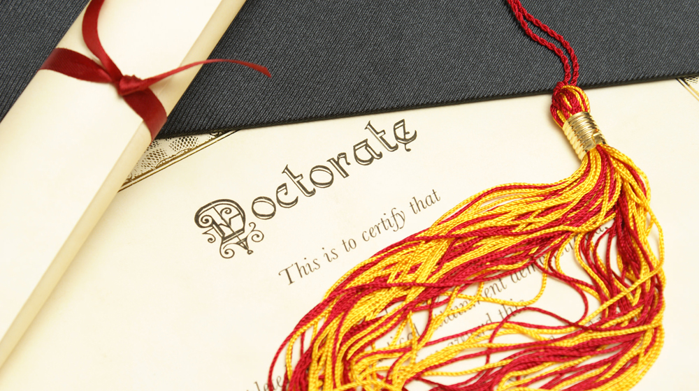 Study shows in the last 16 years only 177 PhDs in entrepreneurship