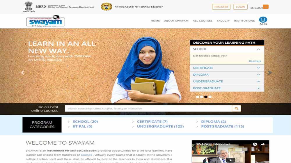 Swayam to offer 2000 online courses in 1 year: Prakash Javadekar