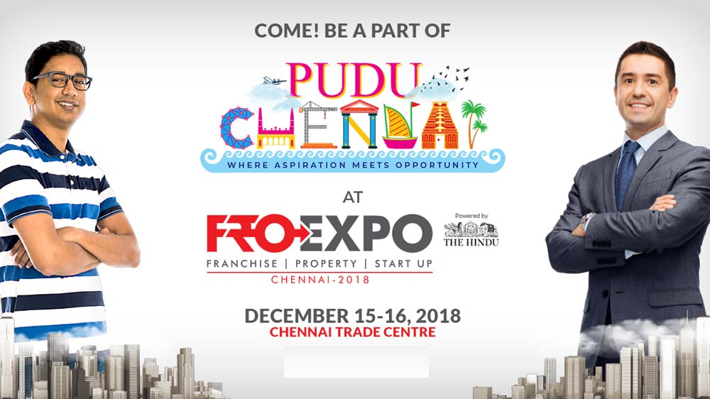"Asia's Biggest Business Opportunity Expo ""FRO Chennai 2018"" to begin soon"