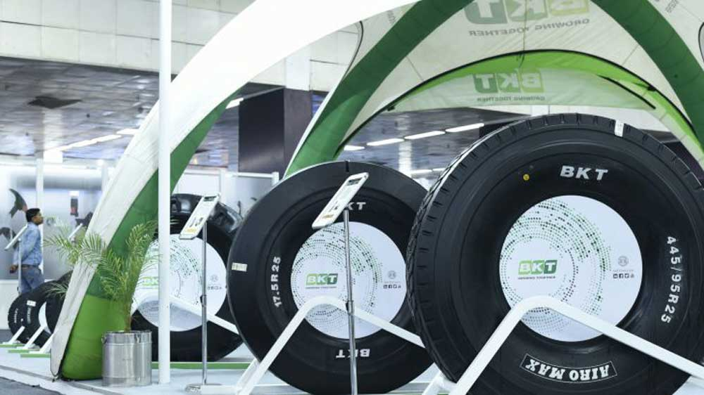 Tyre manufacturer BKT working on Rs 2,000 cr expansion plan in India