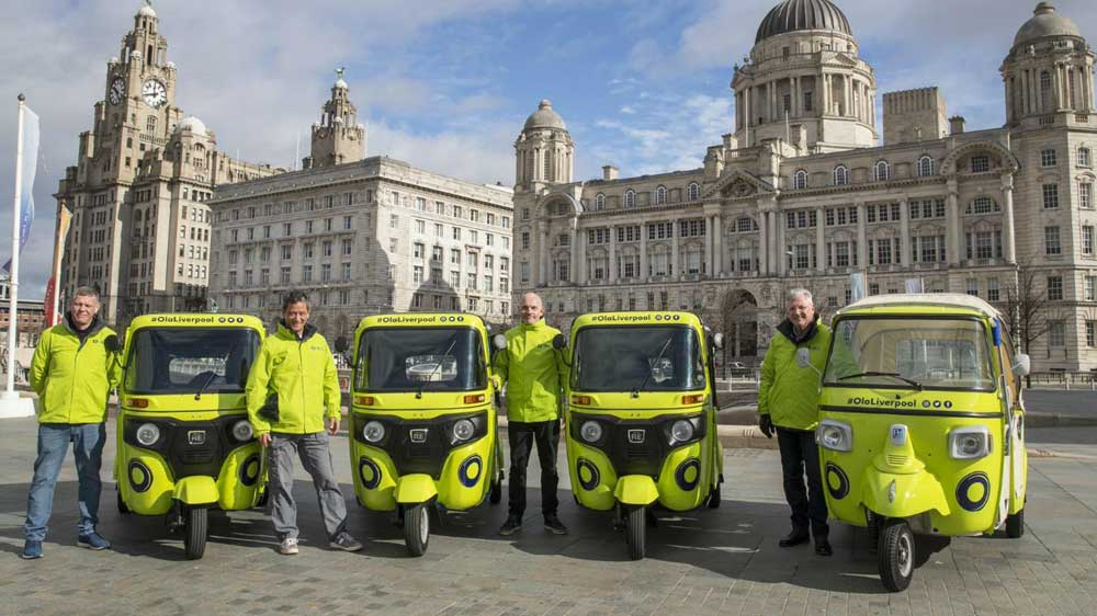 Ola launches autorickshaw service in Liverpool