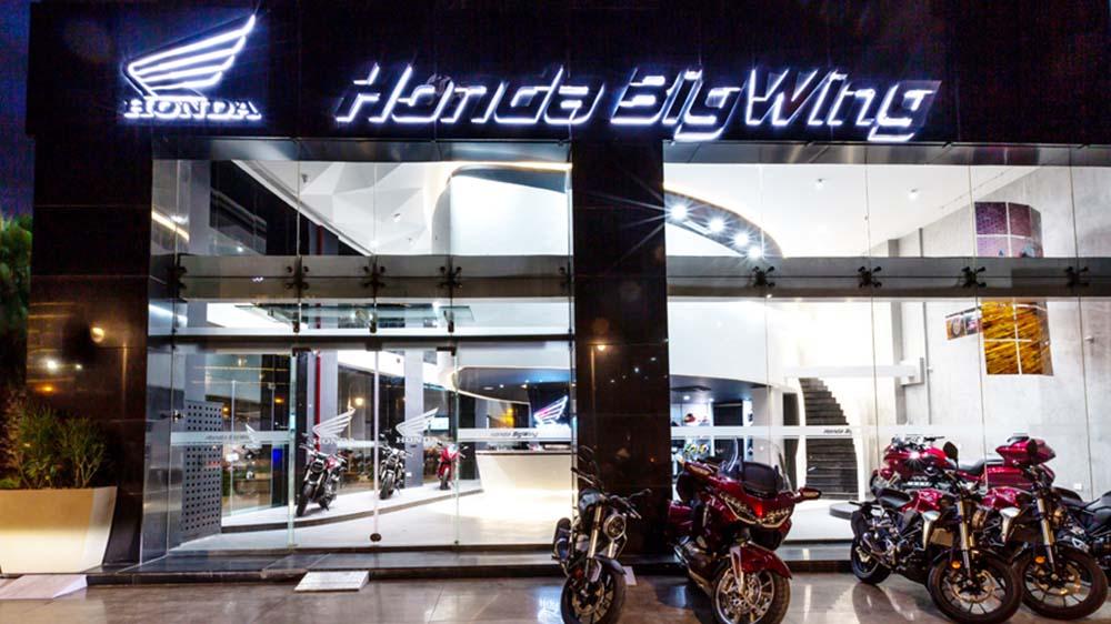 Honda opens 1st BigWing showroom in Gurugram, India