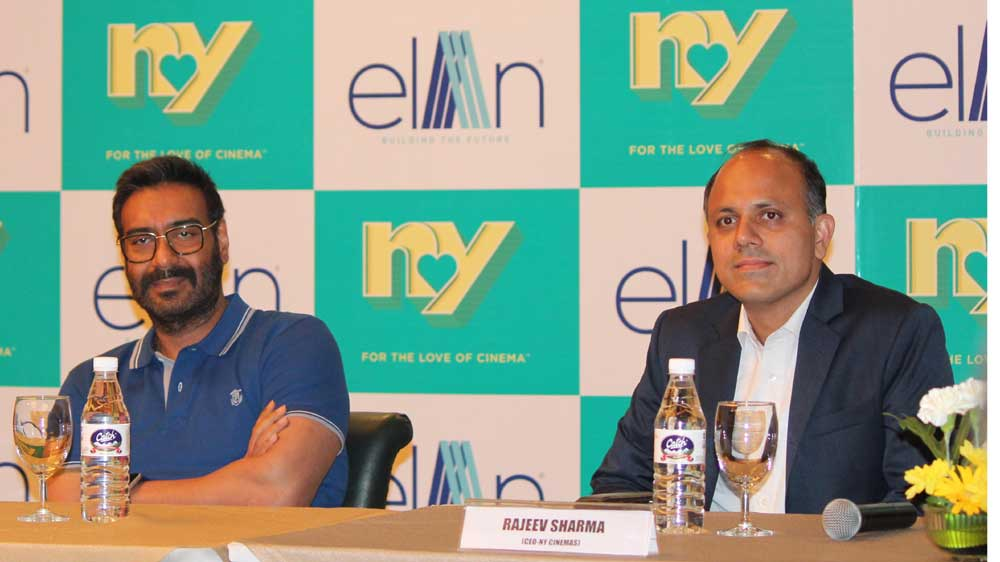 Elan Group join hands with Ajay Devgn's NY Cinemas