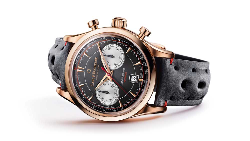 Carl F. Bucherer's Retro Style Manero Flyback Makes An 'Avant-Première' In India Exclusively With Ethos