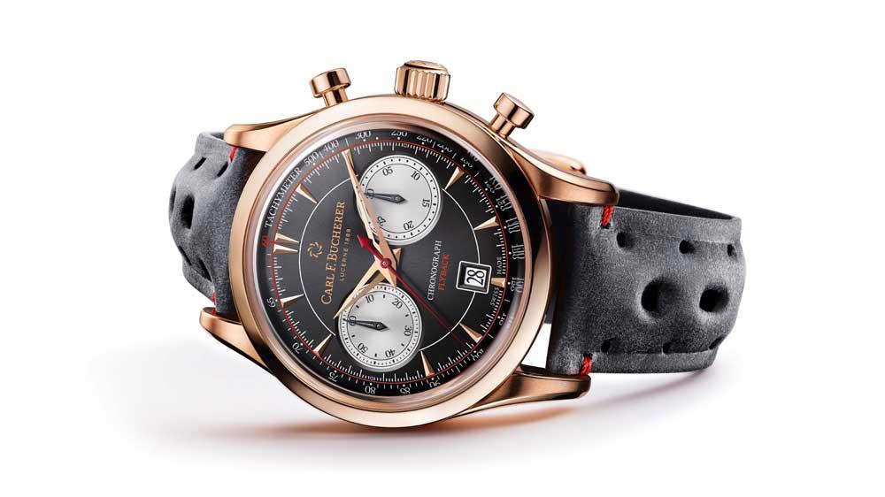 कार्ल एफ बुचरर की रेट्रो स्टाइल मनेरो फ्लाइबैक घड़ी बेहद आकर्षक बनाती है