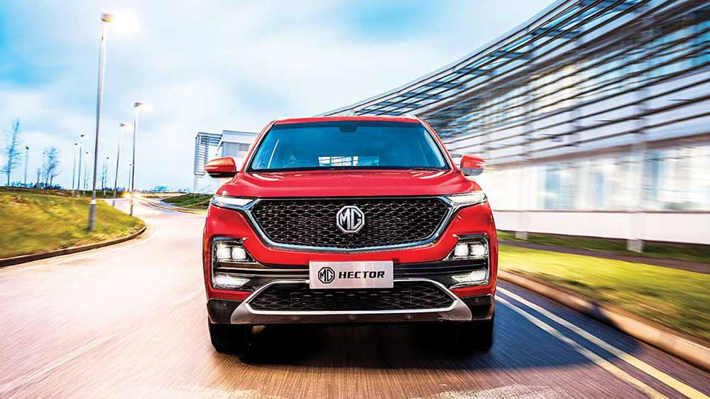 MG Motor launches its first dealership in India