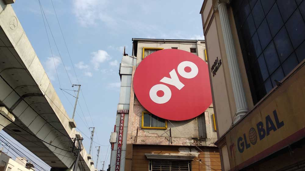 OYO emerges as the world's third largest hotel chain