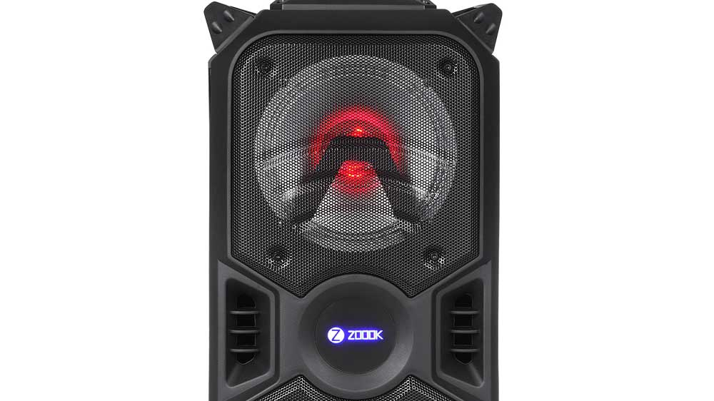 Zoook Introduces Portable Entertainment Party Speaker 'ZB-Rocker Thunder Plus' in India