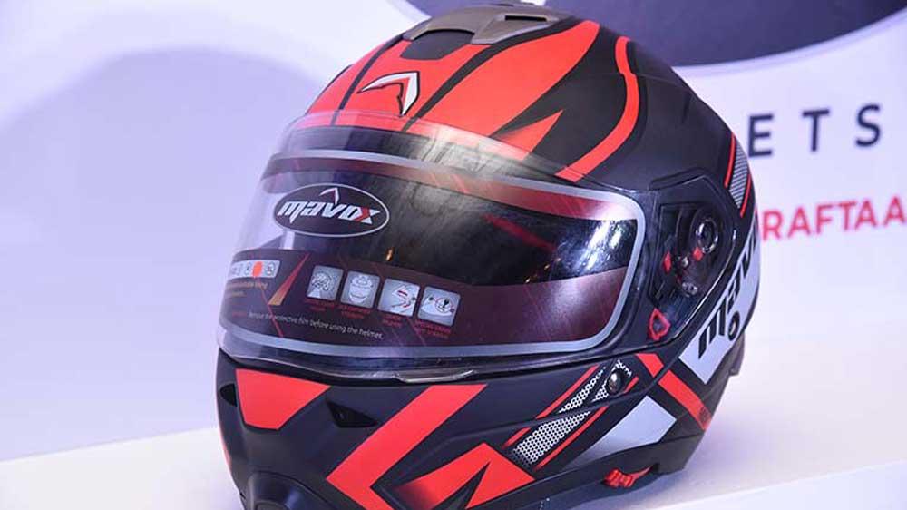 Helmet manufacturer firm Sandhar Amkin goes global, launches Mavox Helmets in Nepal