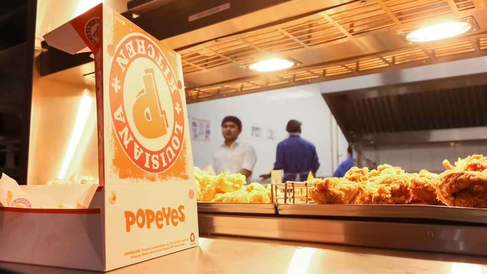 US-based Popeyes Louisiana Kitchen eyeing to take on China
