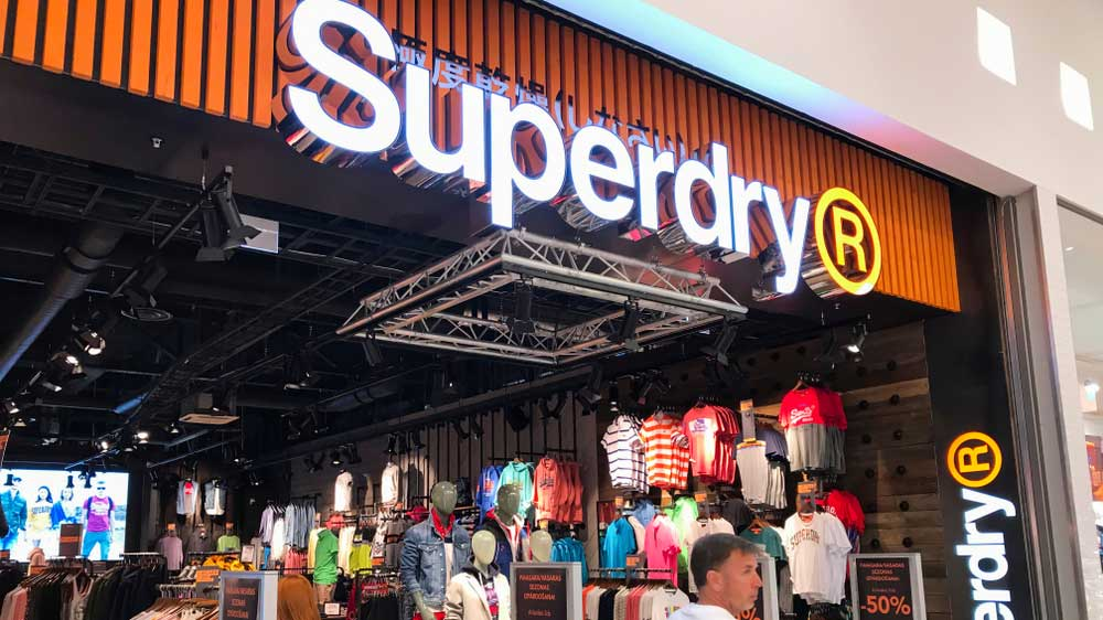 British clothing brand Superdry plans to add over 30 stores for expanding its India presence