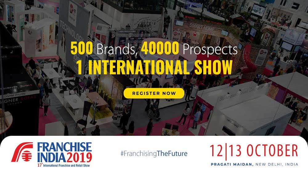 Franchise India to host 17th Edition of International Franchise & Retail Show 2019 supported by MSME