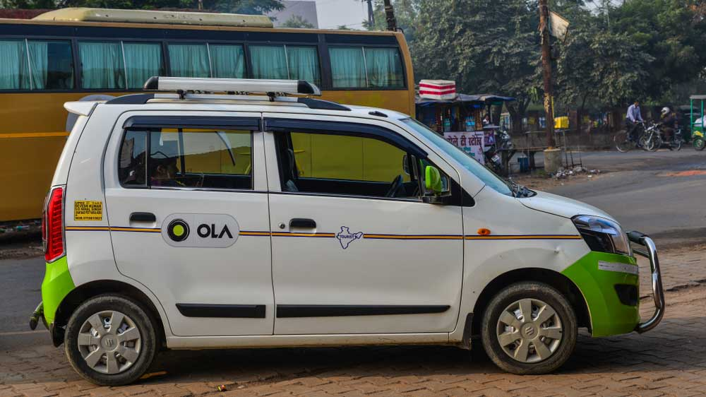 Ola's self-drive car rental launched