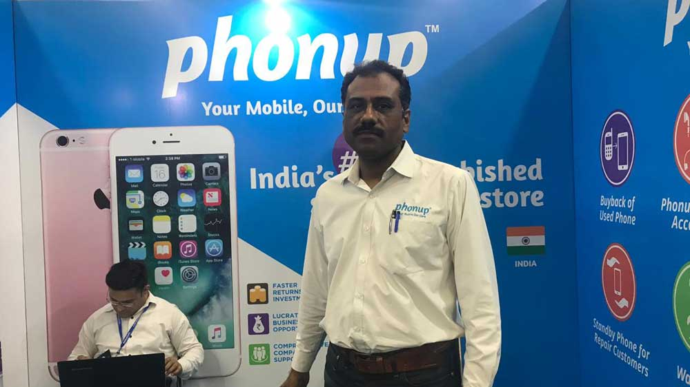 Phonup plans to have around 500 stores in the next 2 years