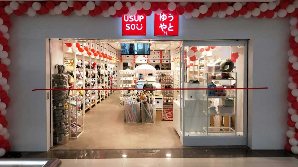 Japanese Lifestyle Brand Usupso eyeing 100 stores by December 2020