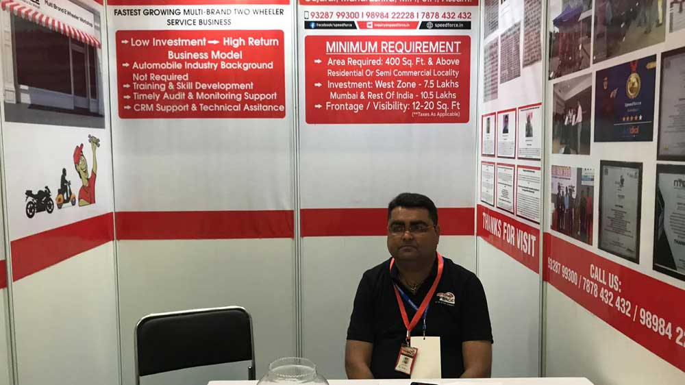 Speed Force aims to offer franchise outlets of two-wheeler maintanance & repair services across India