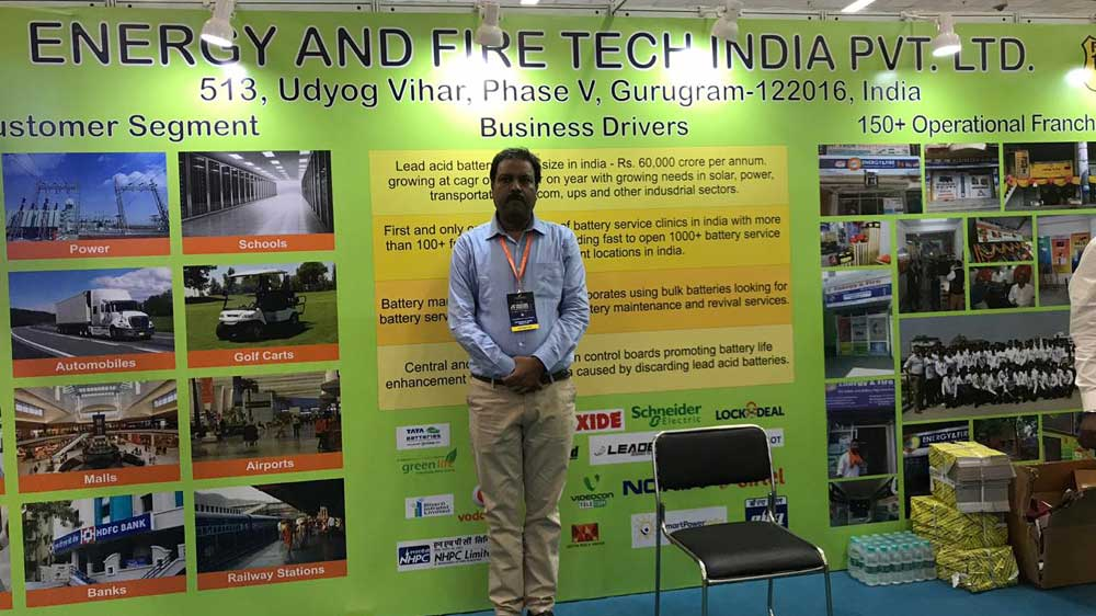 Energy & Fire Tech India targets 4K franchises in four years
