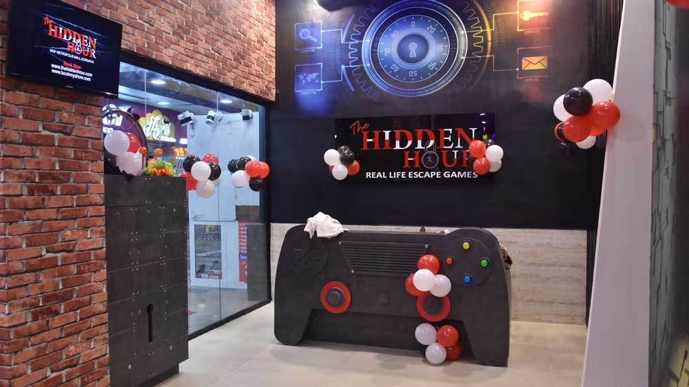 The Hidden Hour launches its biggest gaming center in Noida
