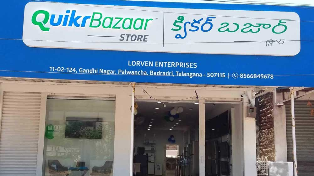 6th QuikrBazaar store opened in Telangana