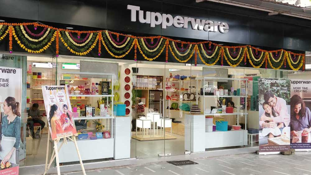 Tupperware plans to add 100 more outlets in 2020