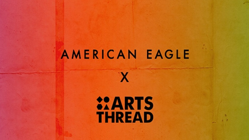 American Eagle partners with  ARTSTHREAD