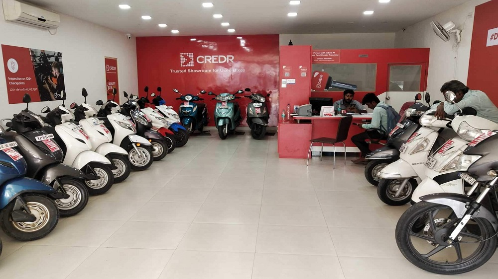 CredR brings two-wheeler buyback program