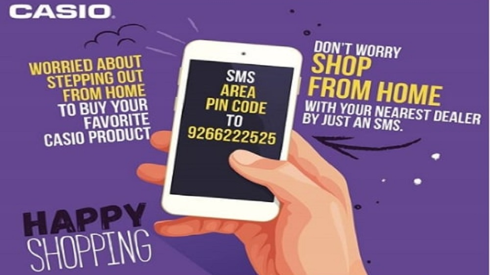 Casio India introduces doorstep delivery of its products