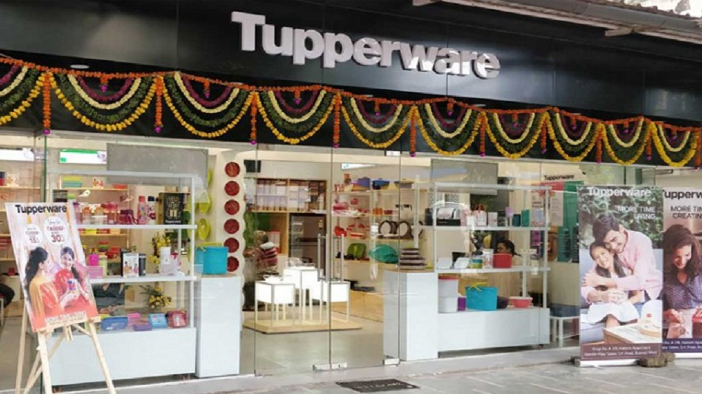 Tupperware launches 10 new stores